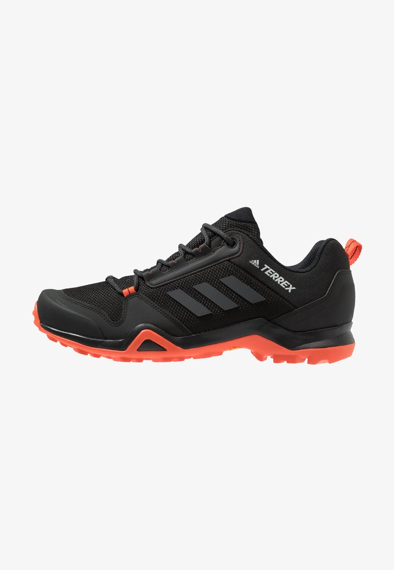 adidas Performance - TERREX AX3 HIKING SHOES - Hiking shoes - core black/carbon/active orange