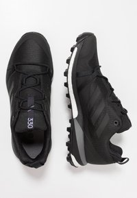 adidas Performance - TERREX SKYCHASER LT - Hiking shoes - core black/grey four - 1