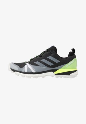 TERREX SKYCHASER LT - Hiking shoes - core black/dash grey/signal green