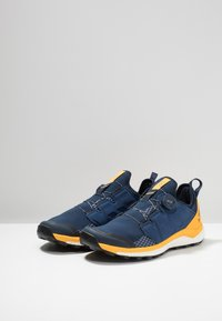 adidas Performance - TERREX AGRAVIC BOA TRAIL RUNNING SHOES - Vaelluskengät - collegiate navy/activ gold - 2