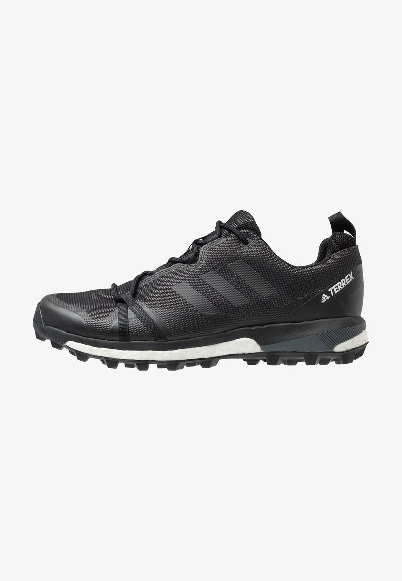 adidas Performance - TERREX SKYCHASER LT GORE-TEX - Trail running shoes - carbon/core black/grey four