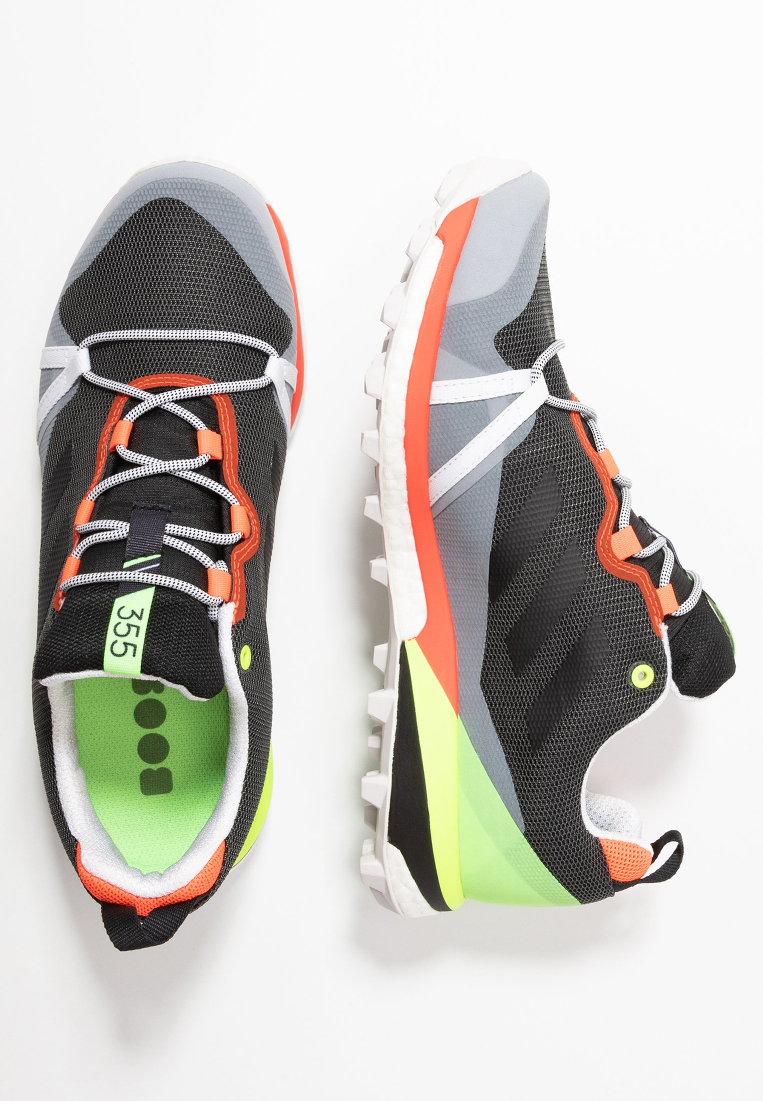 adidas Performance TERREX SKYCHASER LT GORE-TEX - Obuwie do biegania Szlak - grey six/dash grey/signal green