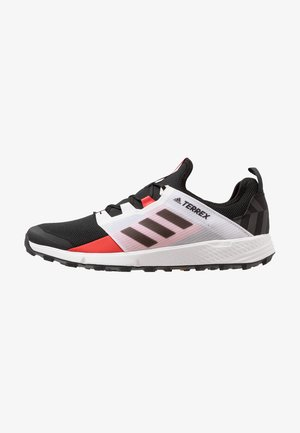 TERREX SPEED LD - Trail running shoes - core black/active red