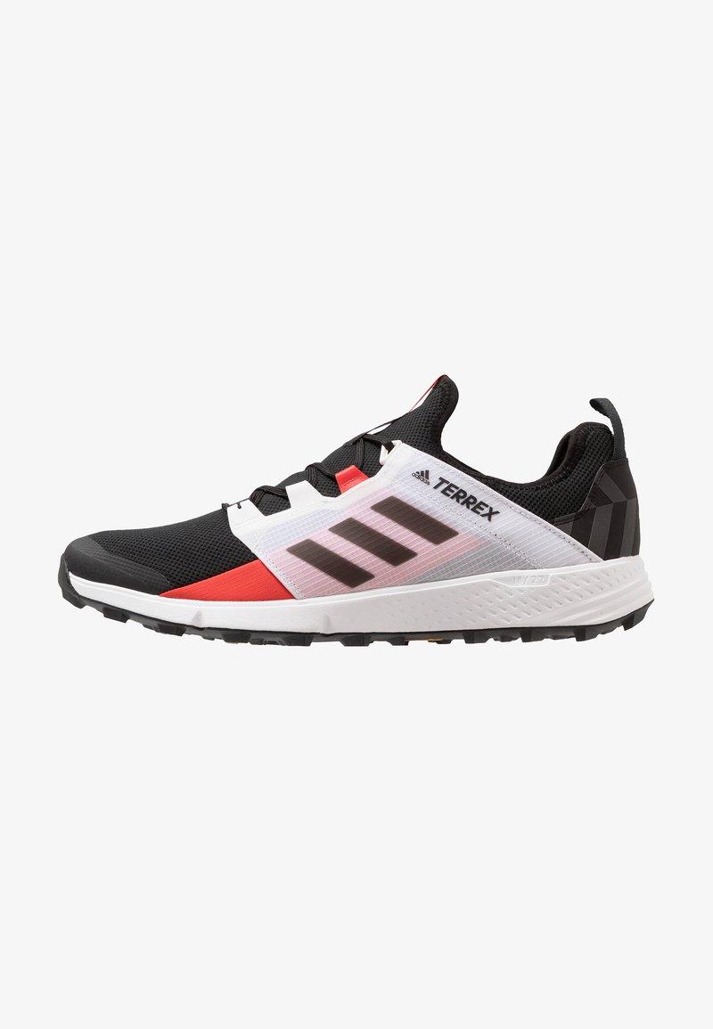 adidas Performance - TERREX SPEED LD - Scarpe da trail running - core black/active red