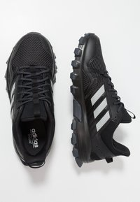 adidas Performance - ROCKADIA TRAIL - Trail running shoes - core black/grey two/grey six - 1