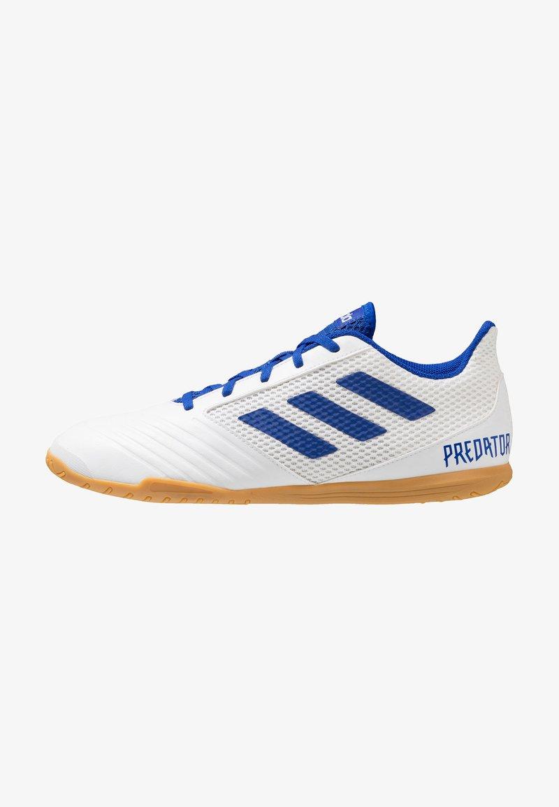 adidas Performance - PREDATOR 19.4 IN SALA - Fotbollsskor inomhusskor - footwear white/bold blue