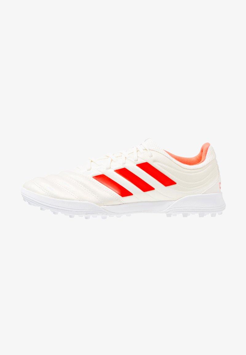 adidas Performance - COPA 19.3 TF - Fußballschuh Multinocken - offwhite/solar red/footwear white