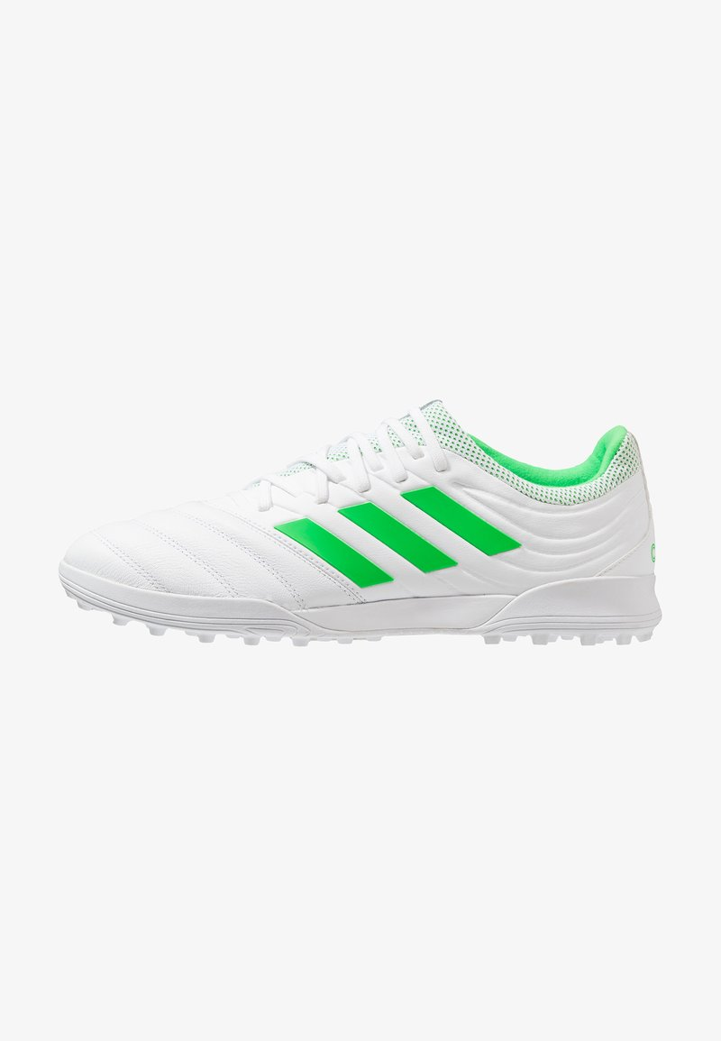 adidas Performance - COPA 19.3 TF - Astro turf trainers - footwear white/solar lime