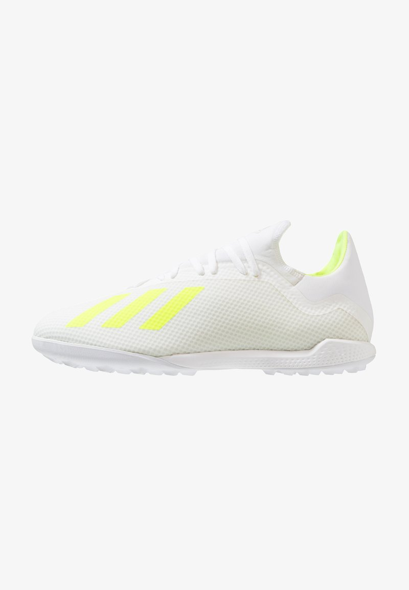 adidas Performance - X 18.3 TF - Fußballschuh Multinocken - footwear white/shock yellow