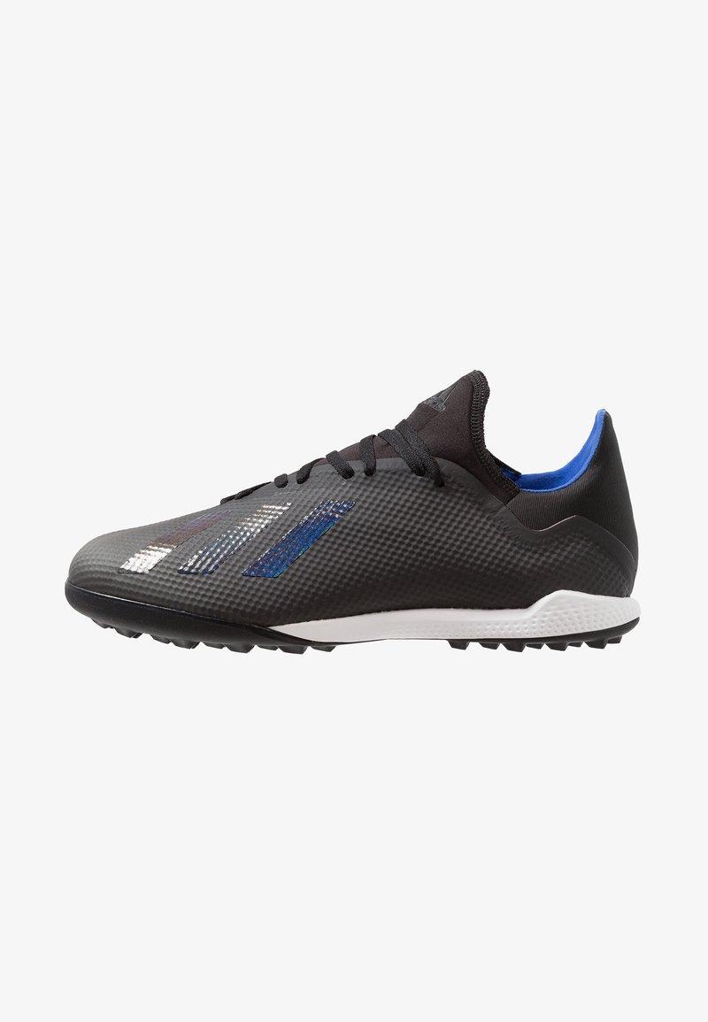 adidas Performance - X 18.3 TF - Fußballschuh Multinocken - core black/bold blue