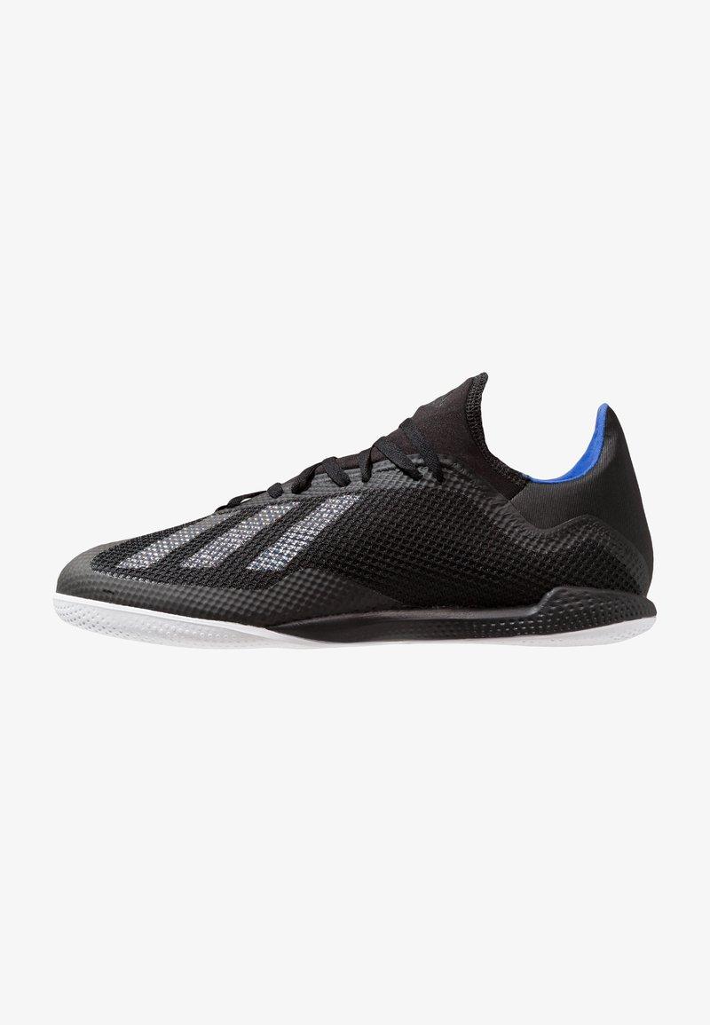 adidas Performance - X 18.3 IN - Fußballschuh Halle - core black/bold blue