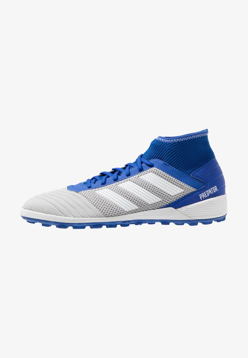 adidas Performance - PREDATOR 19.3 TF - Astro turf trainers - grey two/footwear white/bold blue