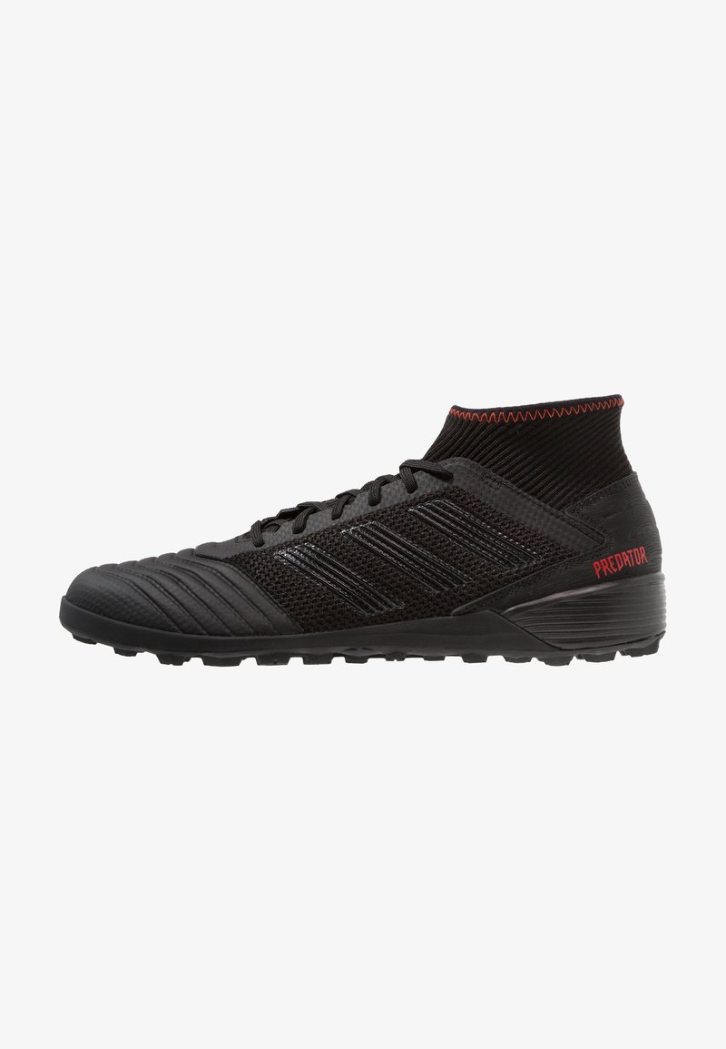adidas Performance - PREDATOR 19.3 TF - Fußballschuh Multinocken - core black/active red