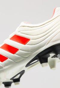 adidas Performance - COPA 19.3 SG - Kopačky s kolíky - offwhite/solar red/core black - 6