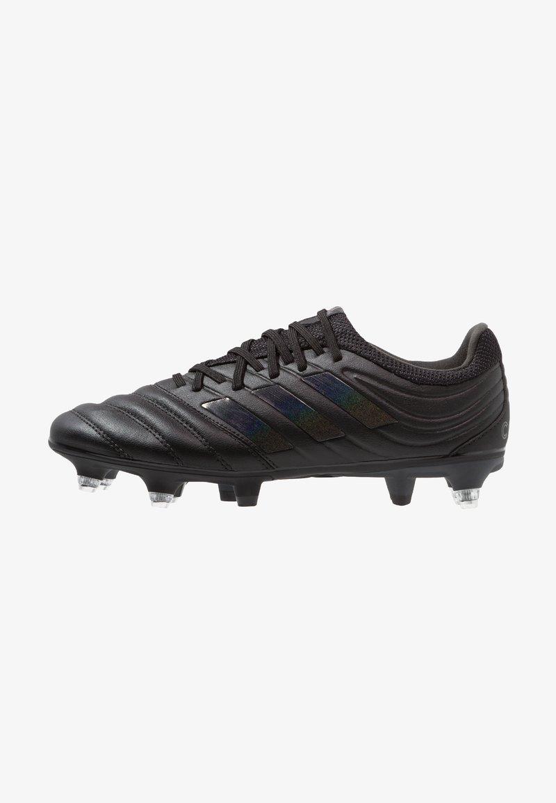 adidas Performance - COPA 19.3 SG - Fußballschuh Stollen - core black/grey six