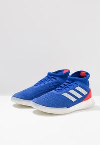 adidas Performance - PREDATOR 19.1 TR - Sports shoes - bold blue/footwear white/active red - 2