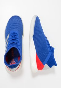 adidas Performance - PREDATOR 19.1 TR - Sports shoes - bold blue/footwear white/active red - 1