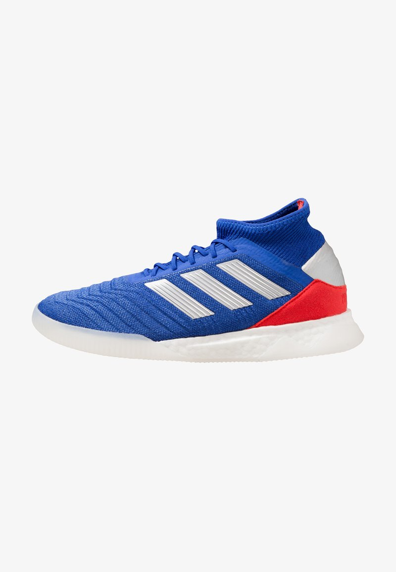 adidas Performance - PREDATOR 19.1 TR - Sports shoes - bold blue/footwear white/active red