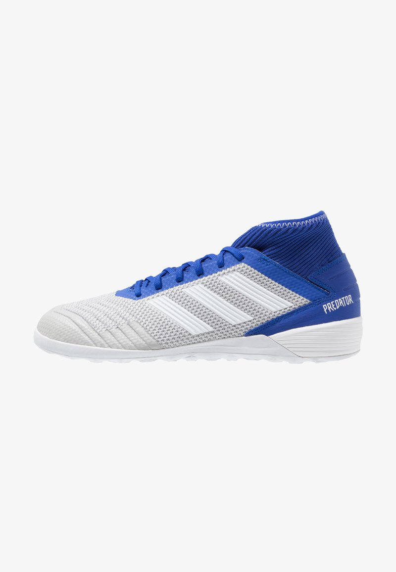 adidas Performance - PREDATOR 19.3 IN - Indoor football boots - grey two/footwear white/bold blue