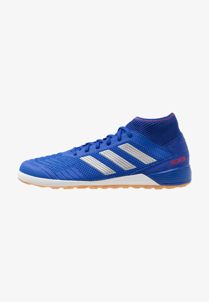adidas Performance - PREDATOR 19.3 IN - Indoor football boots - bold blue/silver metallic/active red