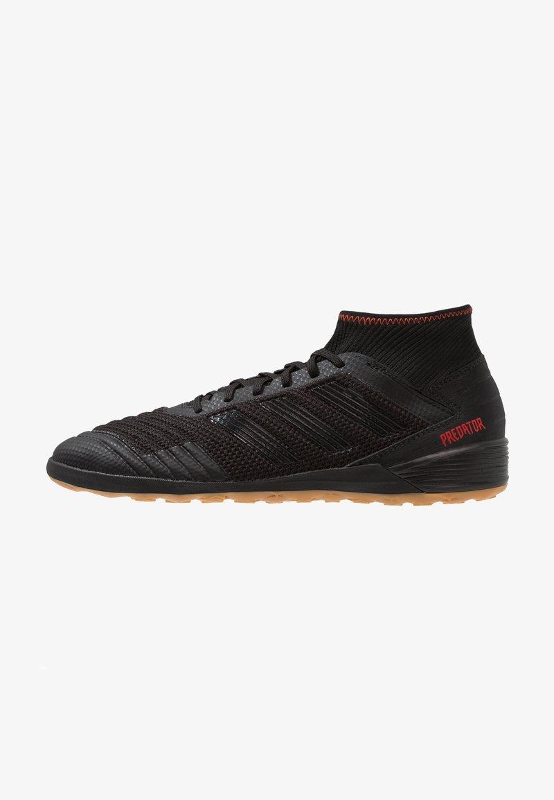adidas Performance - PREDATOR 19.3 IN - Botas de fútbol sin tacos - core black/active red