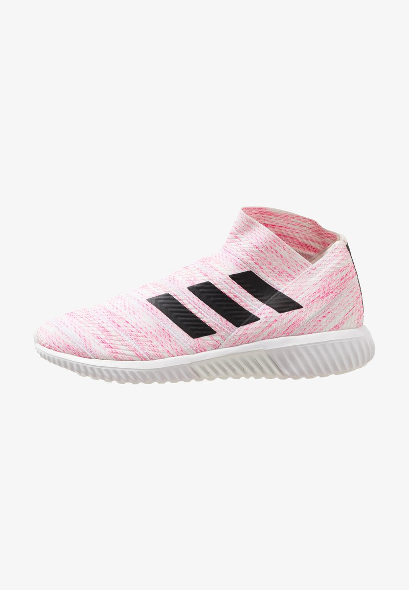 adidas Performance - NEMEZIZ 18.1 TR - Sneakers high - footwear white/core black/shock pink