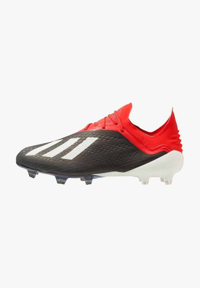 adidas Performance - X 18.1 FG - Fodboldstøvler m/ faste knobber - core black/footwear white/active red