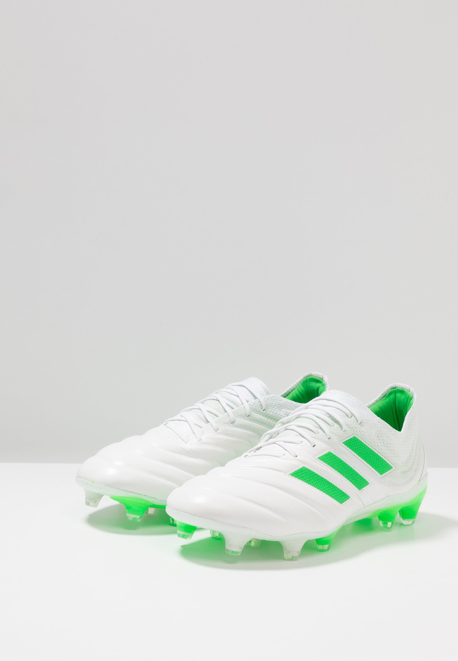 adidas Performance COPA 19.1 FG - Chaussures de foot à crampons footwear white/shock lime