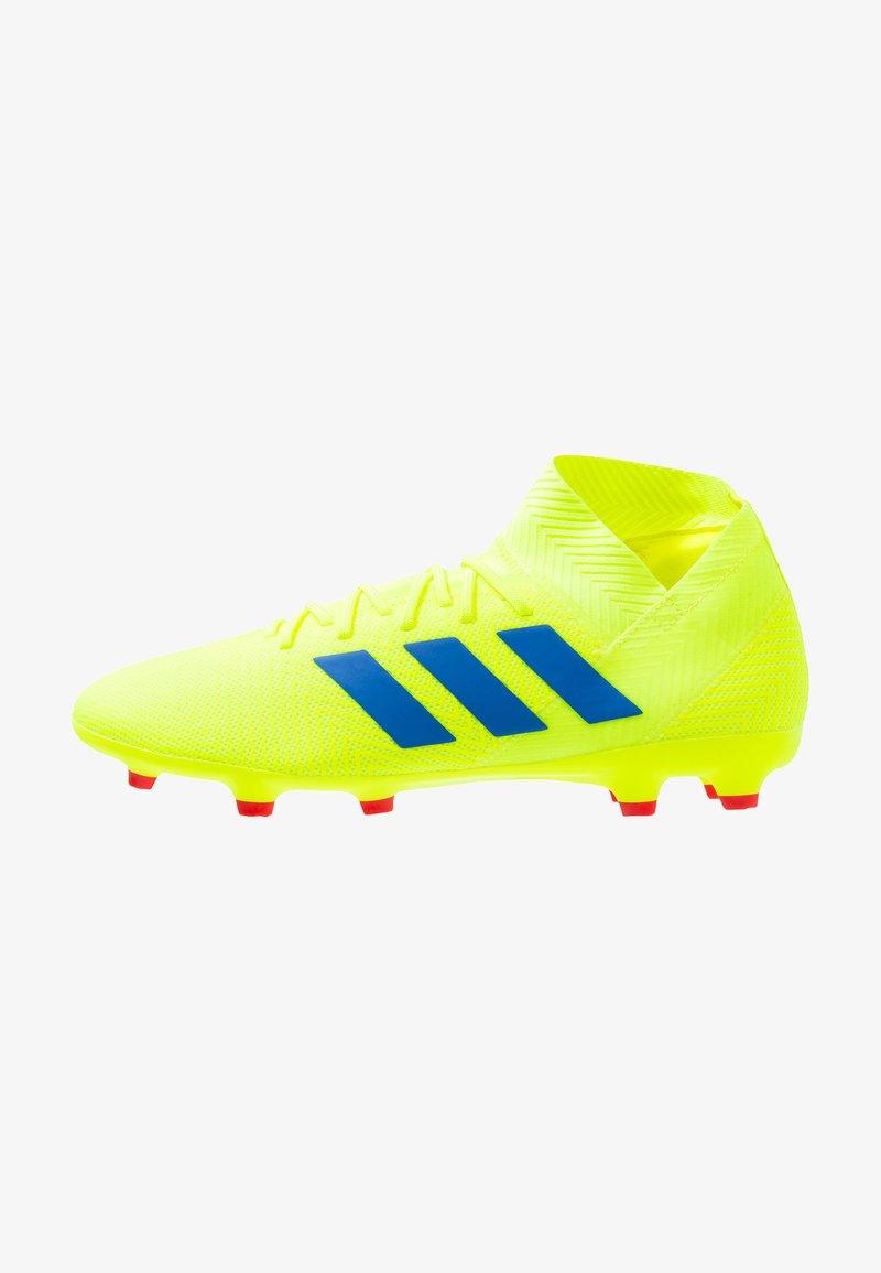 adidas Performance - NEMEZIZ 18.3 FG - Moulded stud football boots - solar yellow/football blue/active red