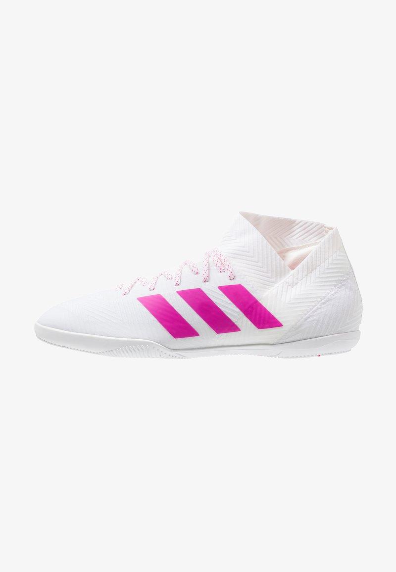 adidas Performance - NEMEZIZ 18.3 IN - Fußballschuh Halle - footwear white/shock pink
