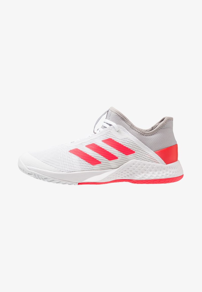 adidas Performance - ADIZERO CLUB - Multicourt Tennisschuh - light granite/shock red/footwear white
