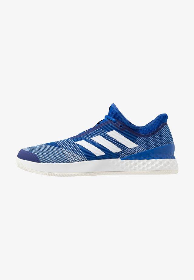 ADIZERO UBERSONIC 3 CLAY - Zapatillas de tenis para tierra batida - royal blue/footwear white/offwhite
