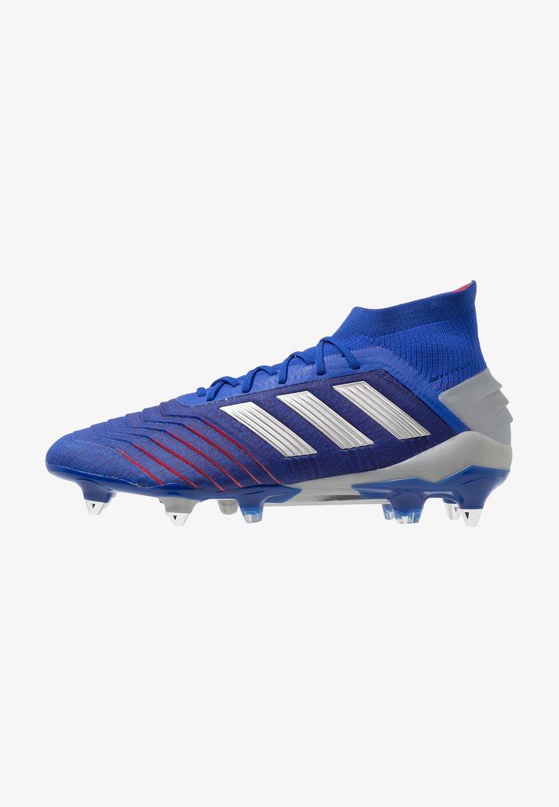 adidas Performance - PREDATOR 19.1 SG - Screw-in stud football boots - bold blue/silver metallic/football blue