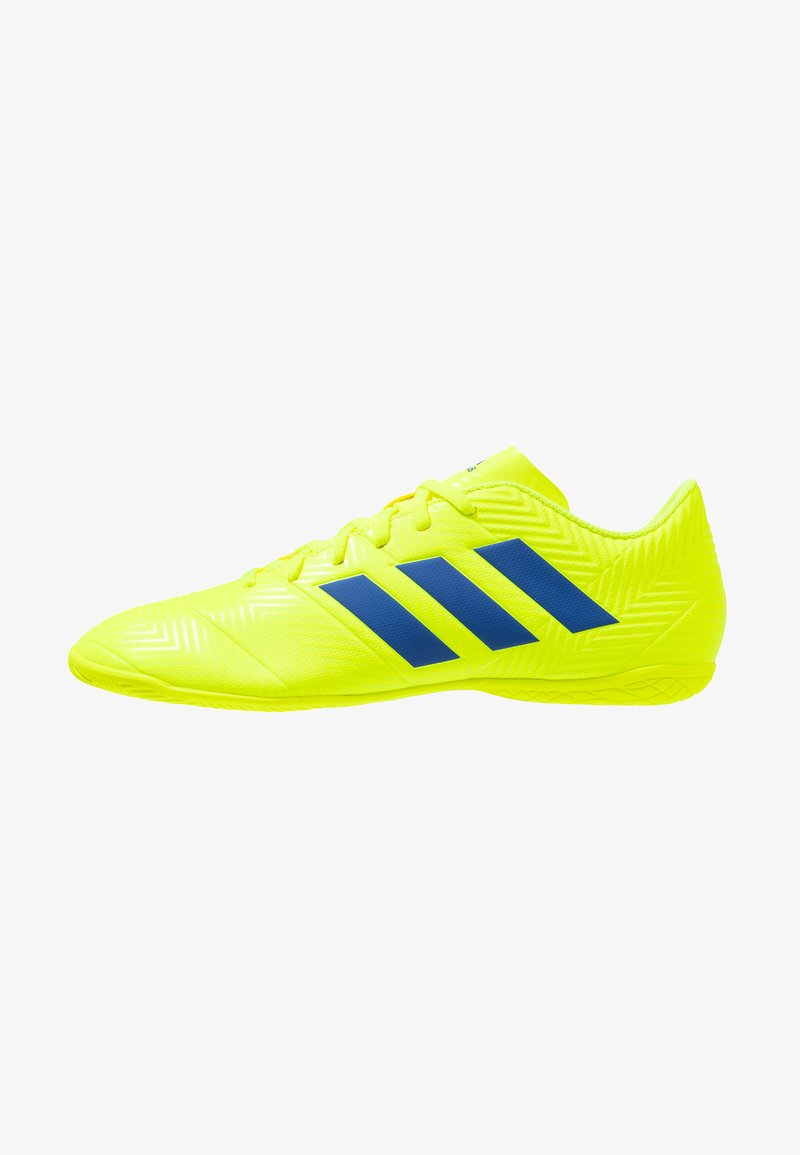 adidas Performance - NEMEZIZ 18.4 IN - Fußballschuh Halle - solar yellow/football blue/active red