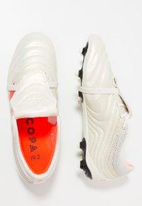 adidas Performance - COPA GLORO 19.2 FIRM GROUND BOOTS - Fußballschuh Nocken - offwhite/solar red/core black - 1