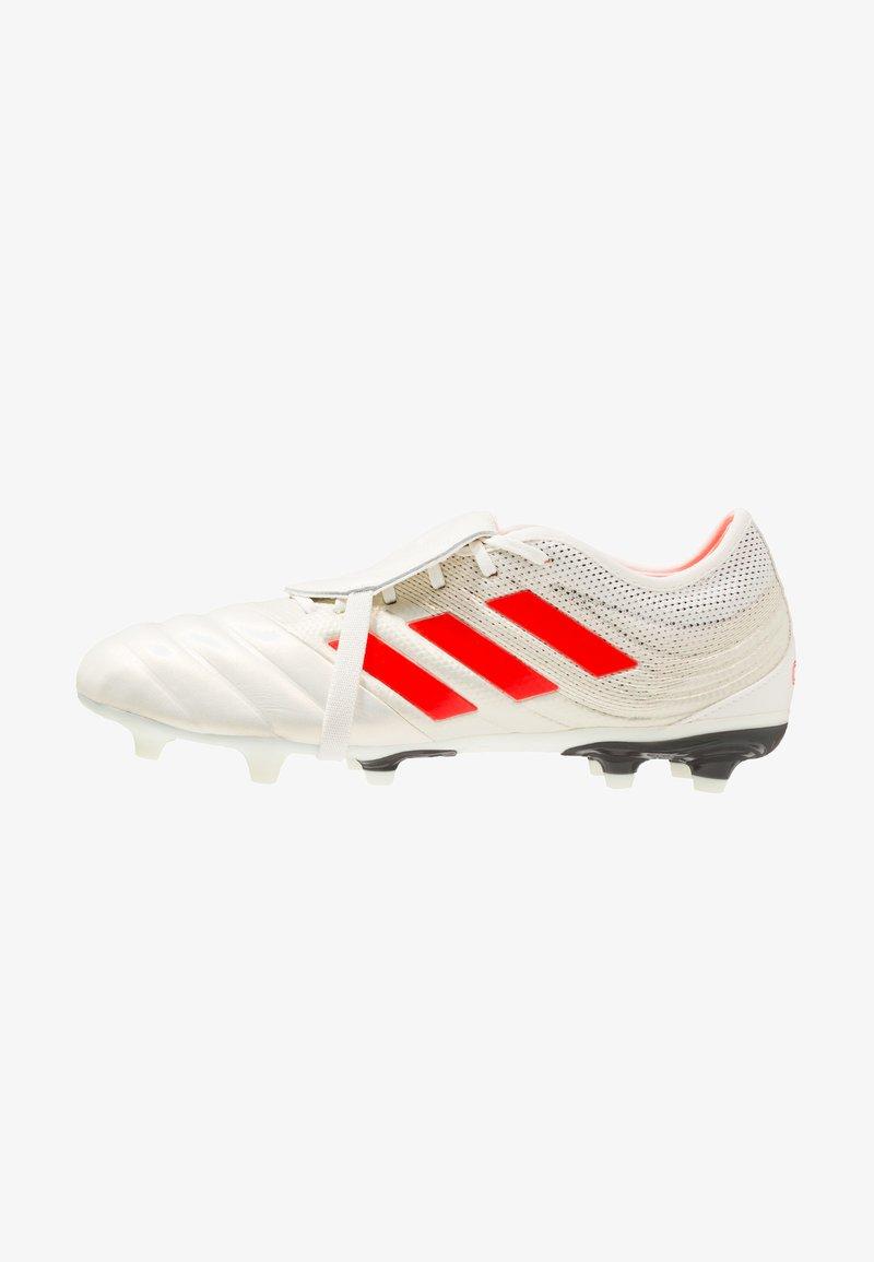 adidas Performance - COPA GLORO 19.2 FIRM GROUND BOOTS - Fußballschuh Nocken - offwhite/solar red/core black