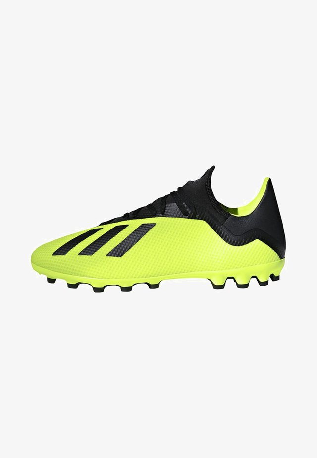 X 18.3 Artificial Grass Boots - Moulded stud football boots - yellow/black