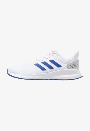 RUNFALCON - Neutral running shoes - footwear white/royal/active red