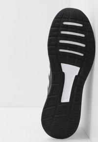 adidas Performance - RUNFALCON - Neutral running shoes - grey six/footwear white/core black - 4