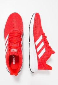 adidas Performance - RUNFALCON - Zapatillas de running neutras - active red/footwear white/core black - 1