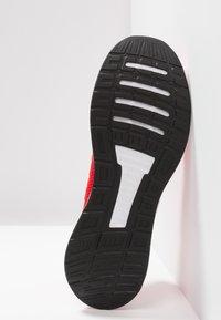 adidas Performance - RUNFALCON - Zapatillas de running neutras - active red/footwear white/core black - 4