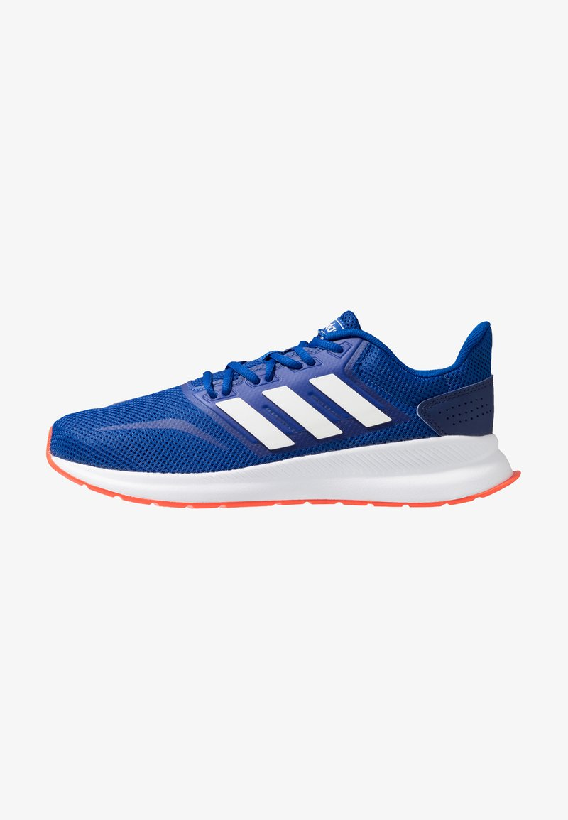 adidas Performance - RUNFALCON - Neutral running shoes - collegiate royal /cloud white /active orange
