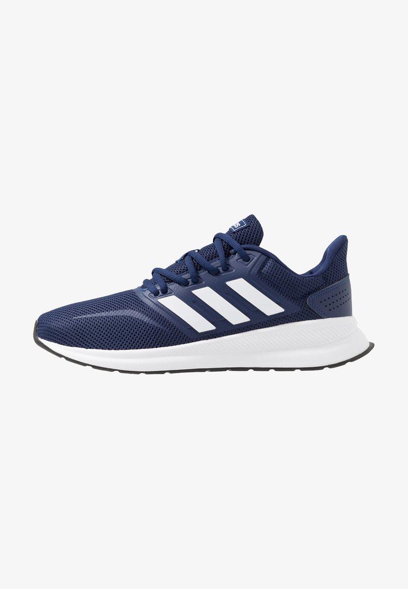 adidas Performance - RUNFALCON - Obuwie do biegania treningowe - dark blue/ftwr white/core black