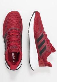 adidas Performance - RUNFALCON - Obuwie do biegania treningowe - active maroon/core black/maroon - 1