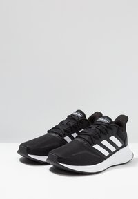 adidas Performance - RUNFALCON - Zapatillas de running neutras - core black/footwear white - 2