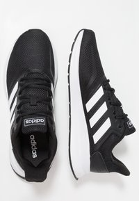 adidas Performance - RUNFALCON - Zapatillas de running neutras - core black/footwear white - 1