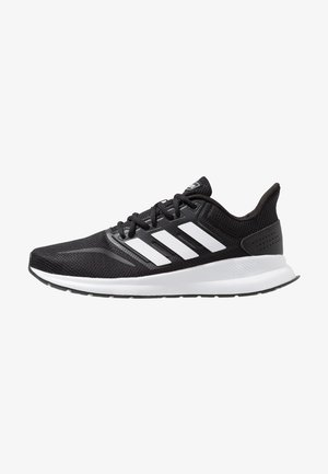 RUNFALCON - Chaussures de running neutres - core black/footwear white