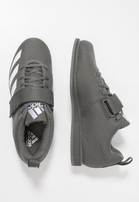 adidas Performance - POWERLIFT 4 - Træningssko - grey five/footwear white - 1