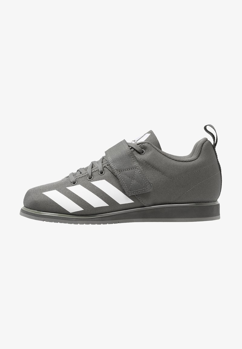 adidas Performance - POWERLIFT 4 - Træningssko - grey five/footwear white
