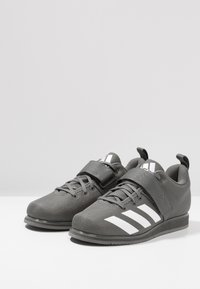 adidas Performance - POWERLIFT 4 - Træningssko - grey five/footwear white - 2